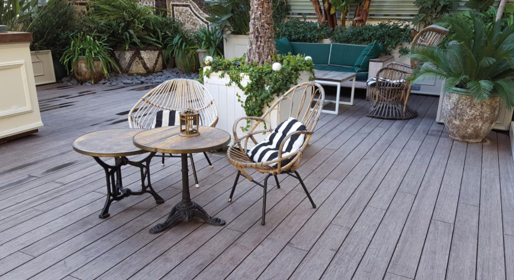 Bamboo Flooring for Your Garden Balcony